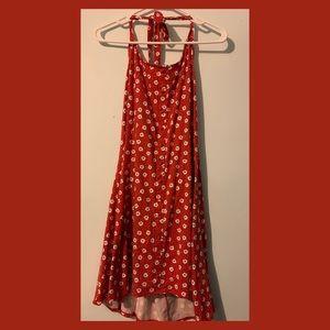 Other - Backless floral dress